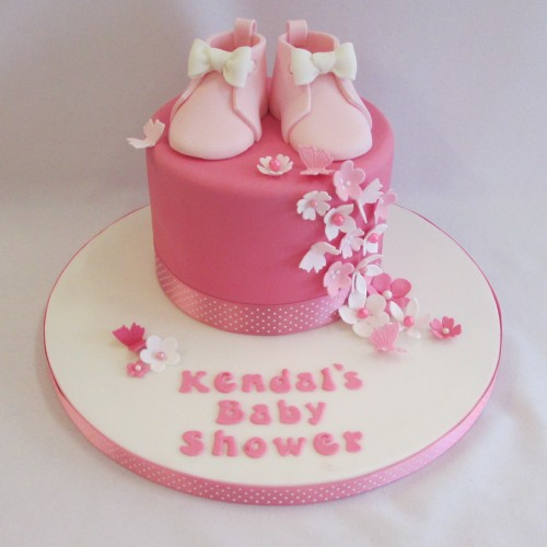 baby shower bootees
