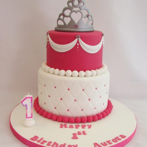 Family Food And Fun First Birthday Cake: Walkden Cake Company